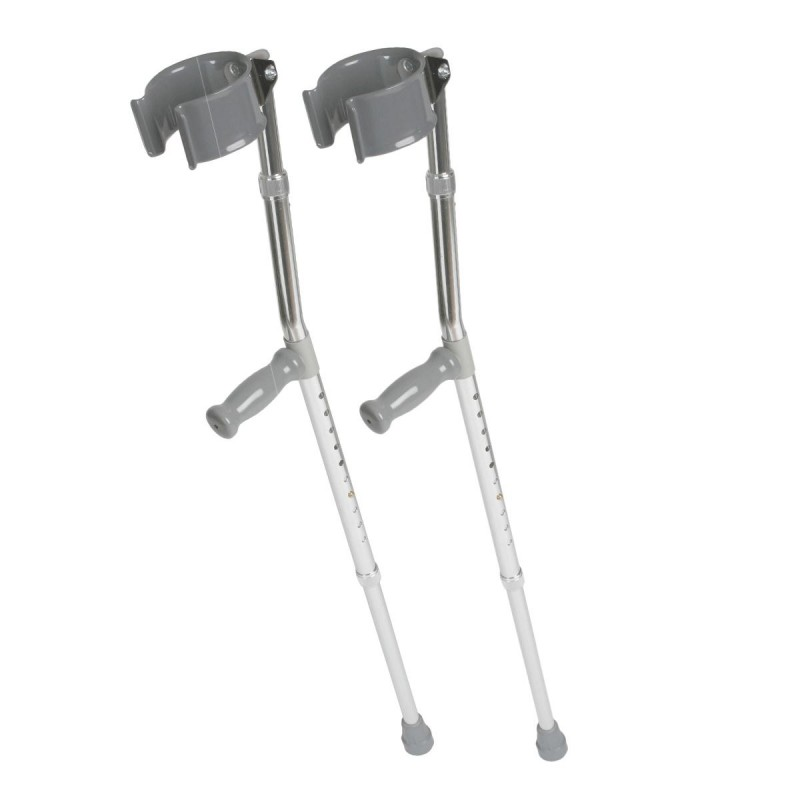 how to use forearm crutches on stairs
