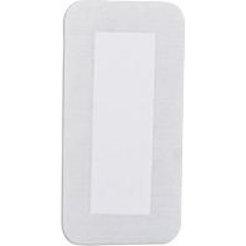 Non Adherent Adhesive Island Wound Dressing Sterile 4x8