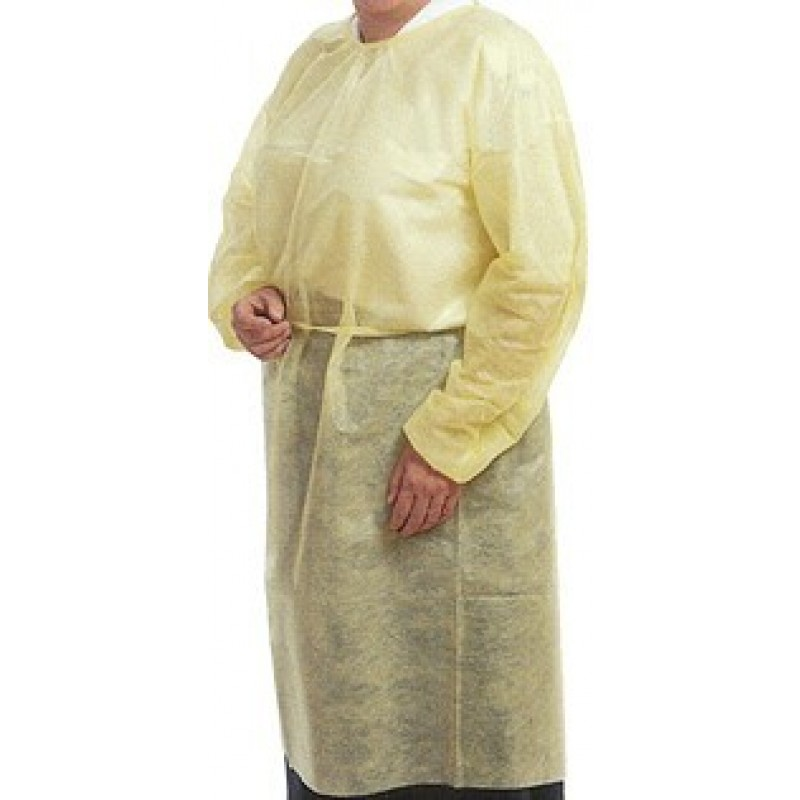 Isolation Gown (Non-Sterile) Disposable ( LF ) - Protective Wear ...