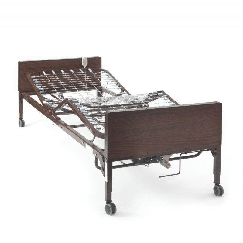 Hospital Bed Electric W Mattress Side Rails