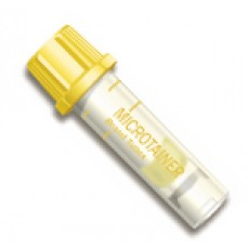 Microtainer® Tube Serum Separator Gel (Gold)