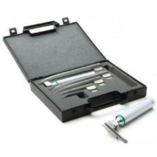 Miller Standard Laryngoscope Set, Stainless Steel, Satin Finish, Non-Glare
