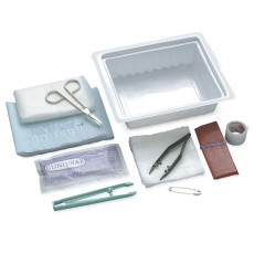 Wound Dressing Tray - Latex-Free