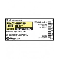 Practi-Heparin Lock Flush™ Peel & Stick Labels