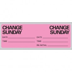 "Label ""IV Change"" Day of Week, (Roll/500) (Specify Day)"