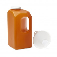 Urine Collection Bottle, 24 hour, 3000mL - Latex-Free
