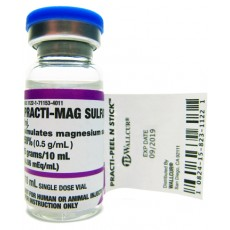 Practi-Magnesium Sulfate™ 10 mL Peel & Stick Label