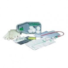 14 Fr Straight Catheter Insertion Tray - Latex-Free