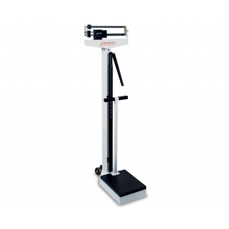 Physician Scale With Height Rod Casters Exam Room
